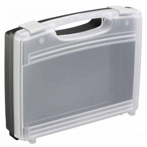 תיק פלסטיק עם מכסה שקוף